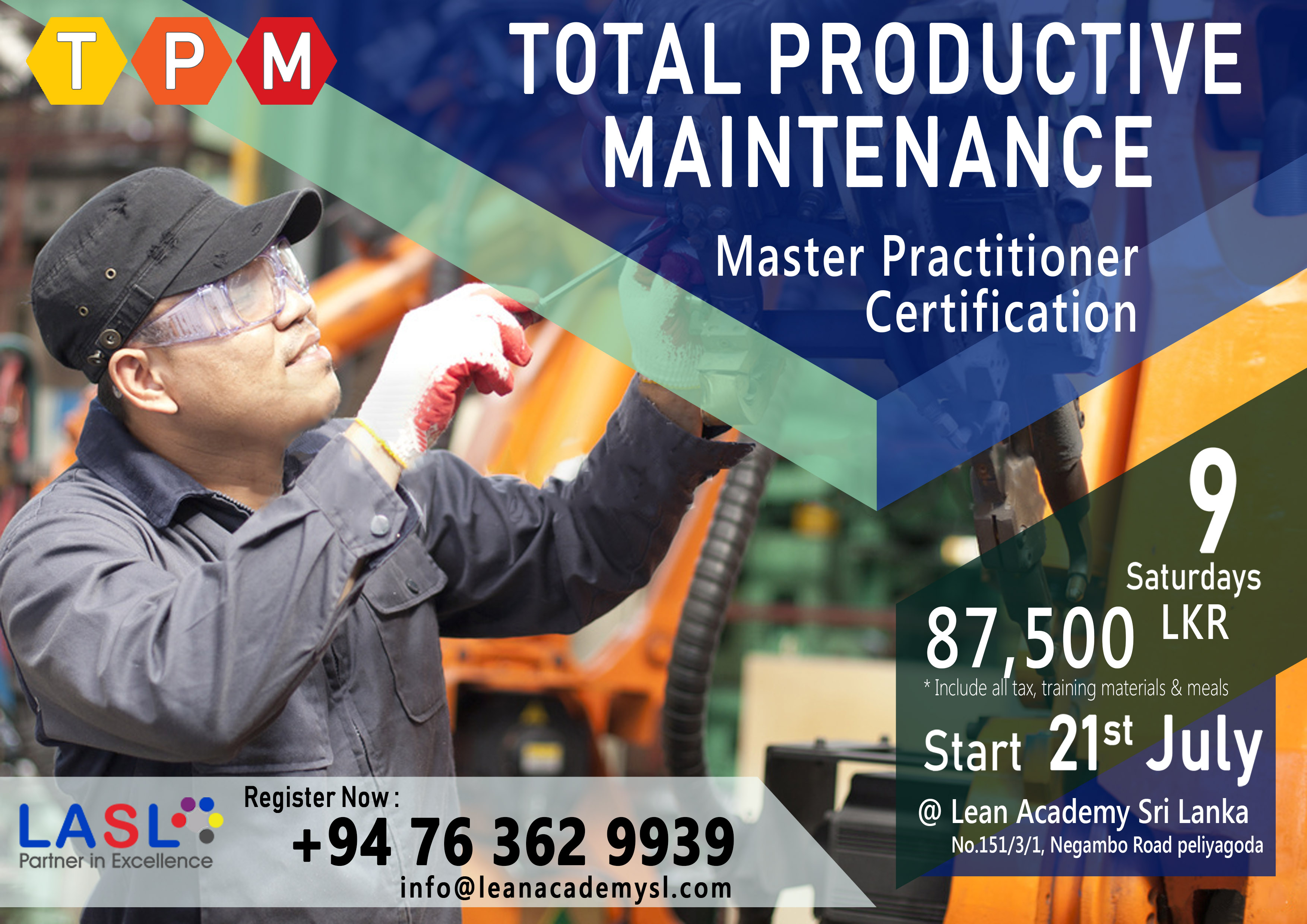 TPM MASTER PRACTITIONER CERTIFICATION (TPM MP)