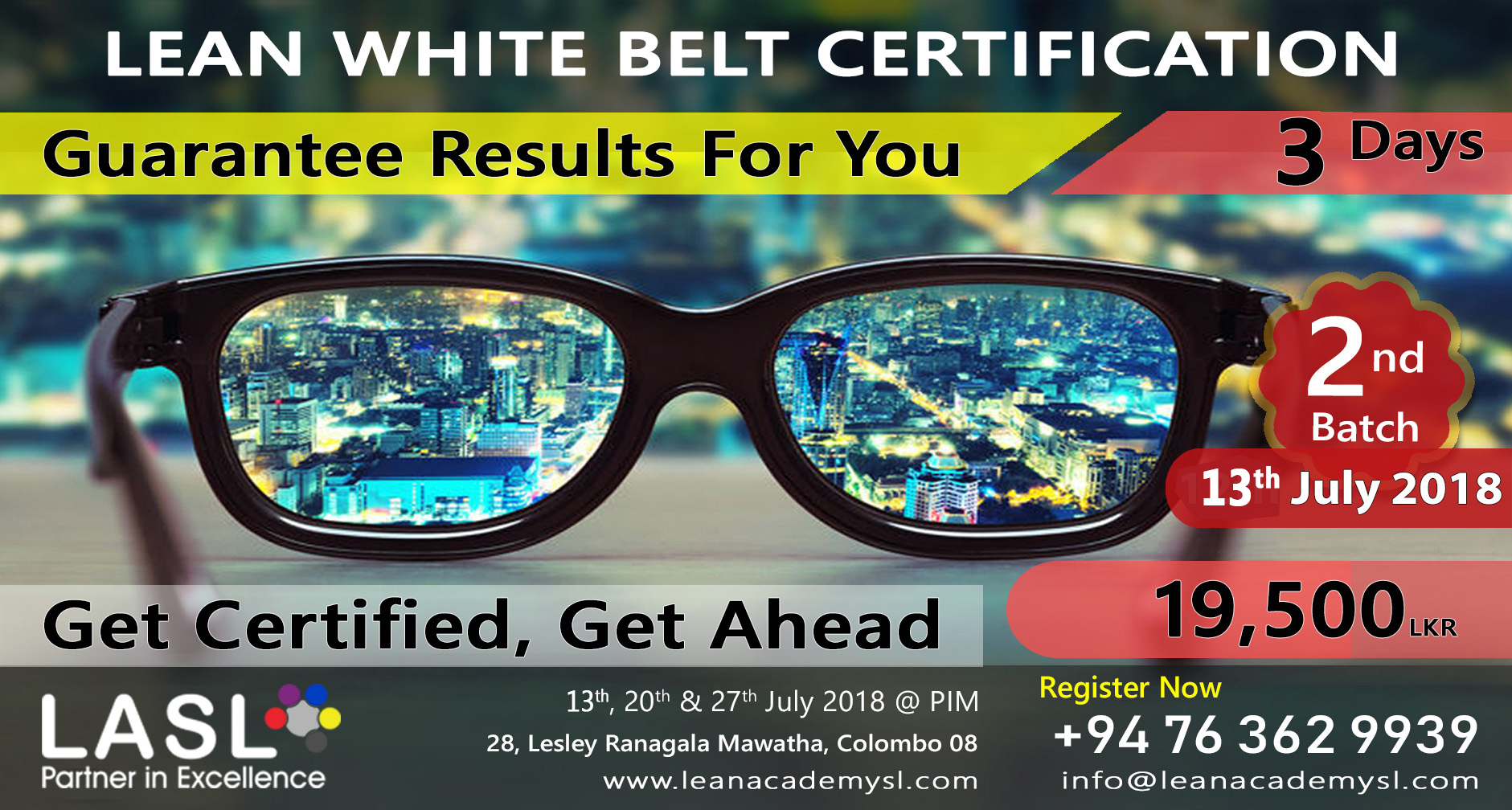 Lean Foundation - Lean White Belt Certification 2nd Batch