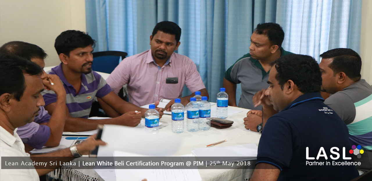 Inauguration of Lean White Belt Certification
