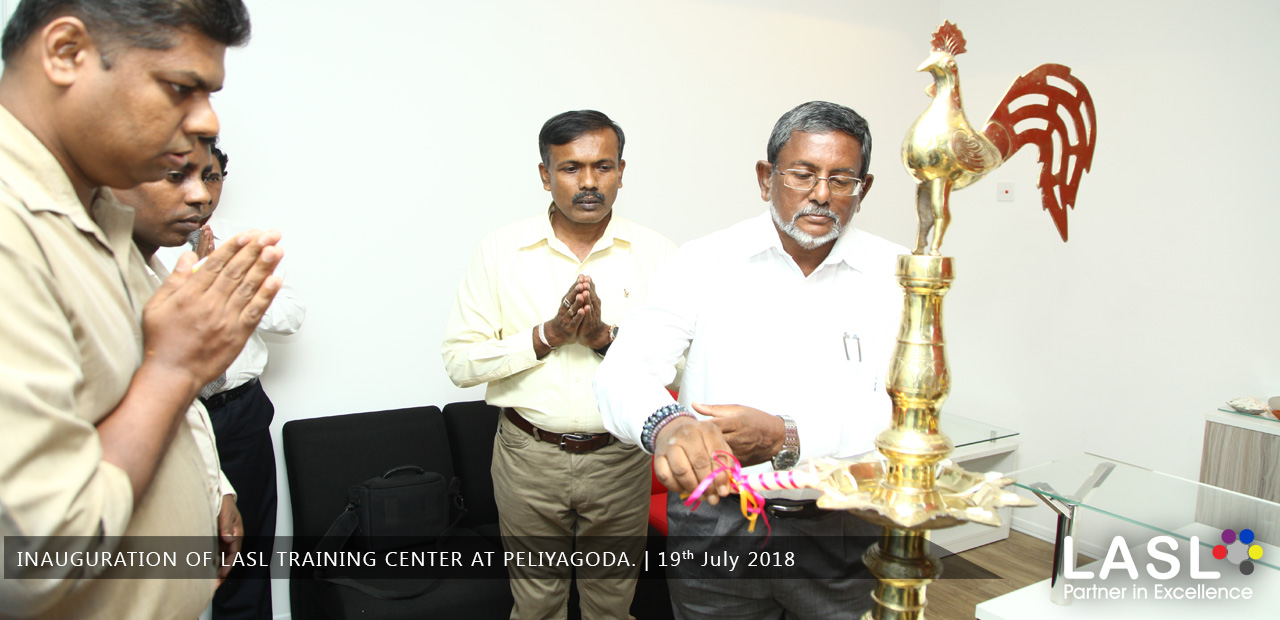 Inauguration of LASL Training Center at Peliyagoda.
